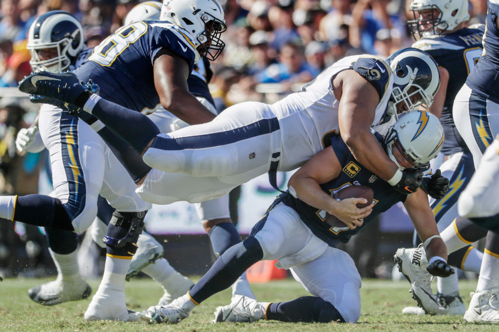 The Los Angeles relationship between the Rams and Chargers isn't off to a great start.