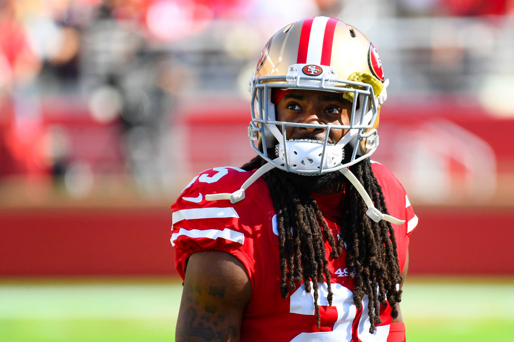 49ers cornerback Richard Sherman