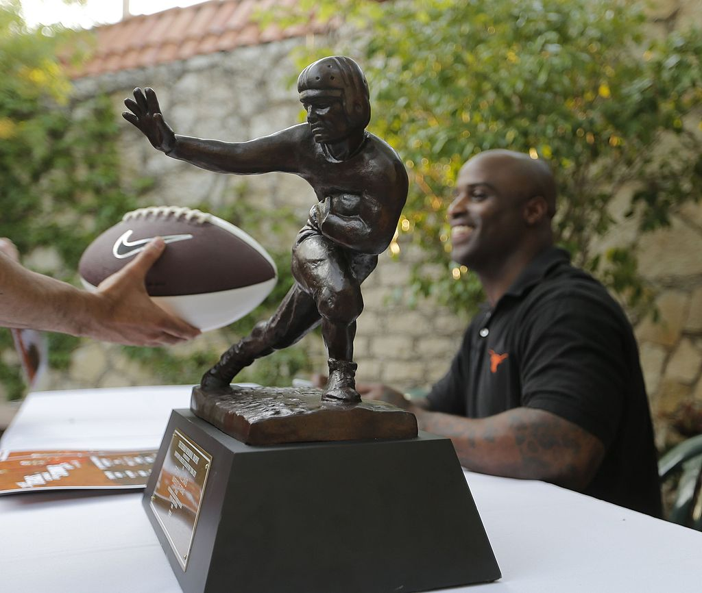 Ricky Williams, former Texas running back and Heisman Trophy winner