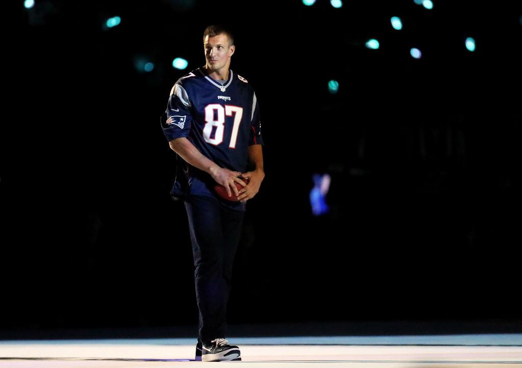 Former Patriots tight end Rob Gronkowski
