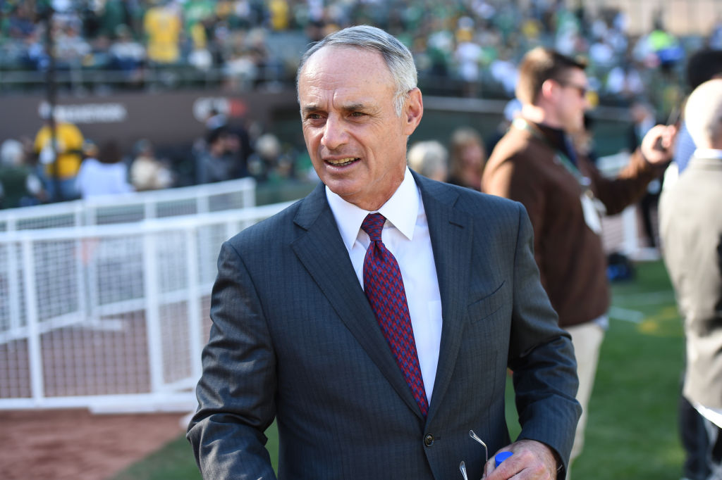 Rob Manfred Commissioner of Major League Baseball