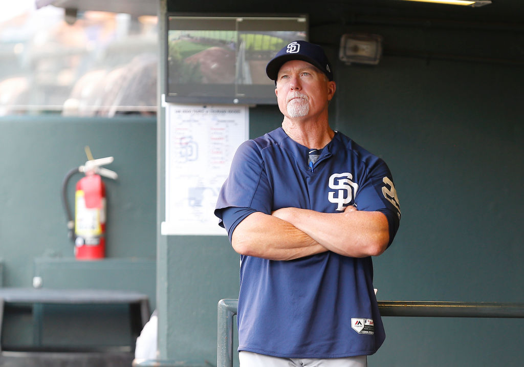San Diego Padres Bench Coach Mark McGwire