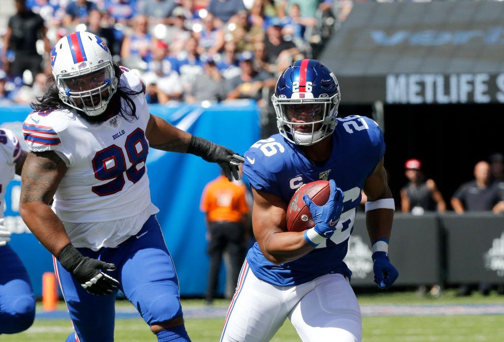 Giants running back Saquon Barkley
