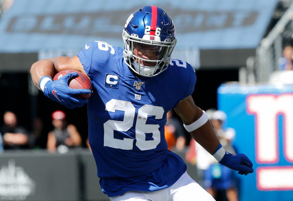 Giants running back Saquon Barkley