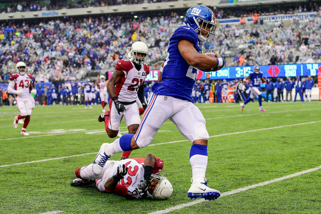 The New York Giants may have Daniel Jones and Saquon Barkley, but they lack an offensive line.