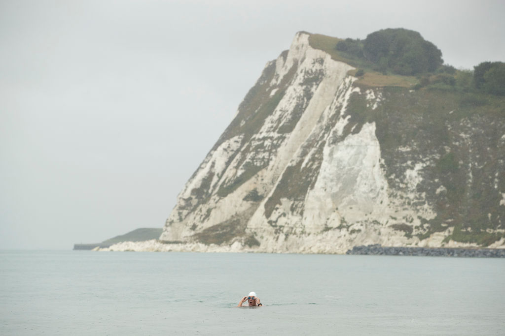 Swimming the English Channel is difficult as it is, but Sarah Thomas did it four times in a row.