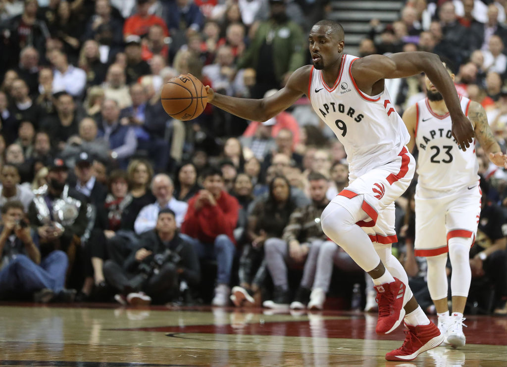 Serge Ibaka won the NBA Finals with the Raptors in 2019, but he's not satisfied with one title.