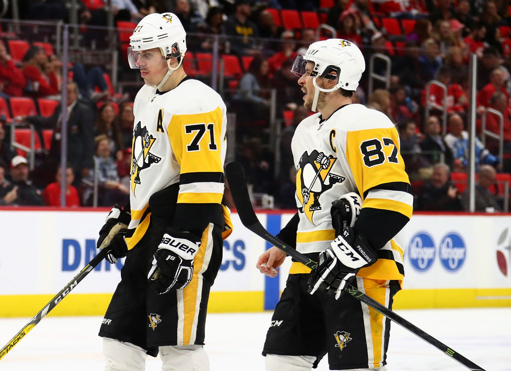 Evgeni Malkin's injury will be a challenge for the Pittsburgh Penguins and Sidney Crosby.