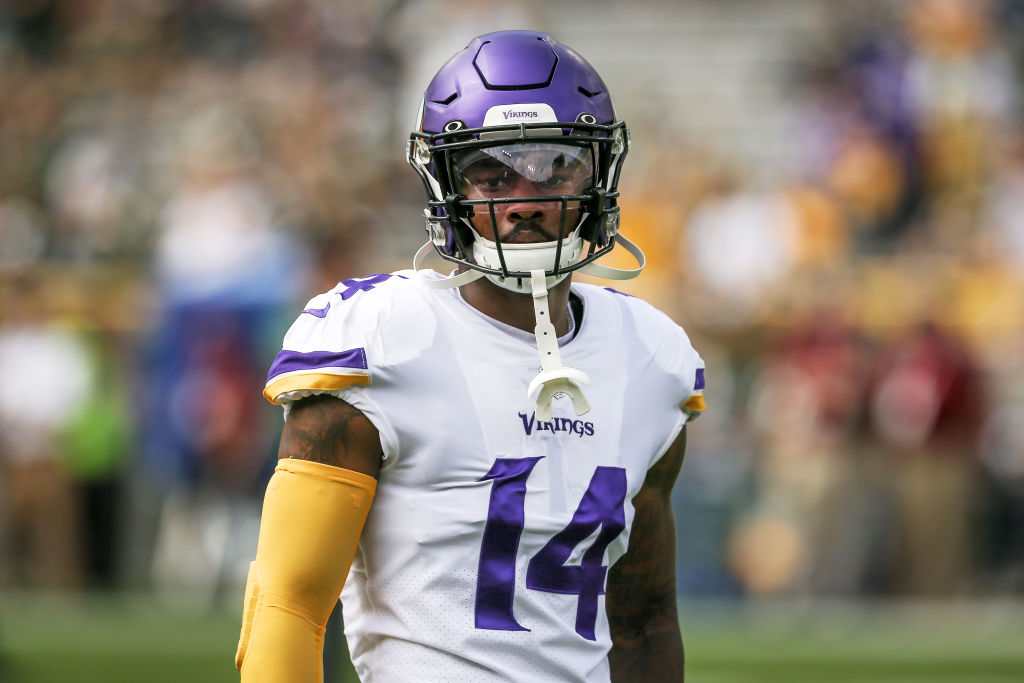 Vikings wide receiver Stefon Diggs