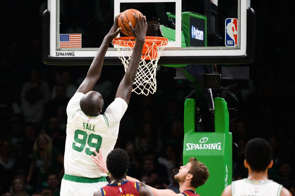 Tacko Fall hopes to turn his height into an NBA career.