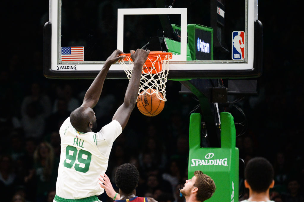 The Celtics Tacko Fall needed just one practice to show he's an NBA ready player.