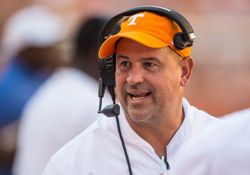 One comment indicates Tennessee football coach Jeremy Pruitt might be a little out of touch with his team's performances in 2019.