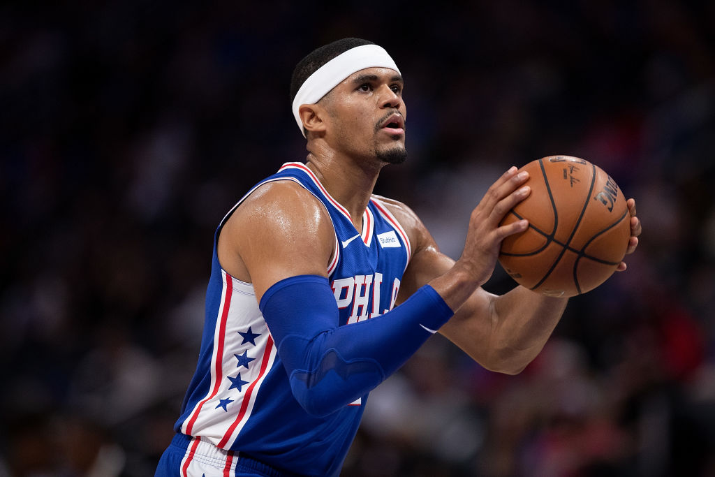 Tobias Harris could live up to his big contract by bringing a championship to Philadelphia