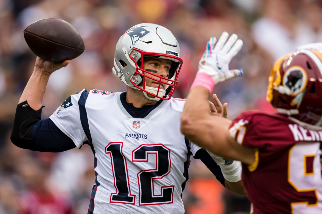 NFL quarterback Tom Brady led the New England Patriots to victory.