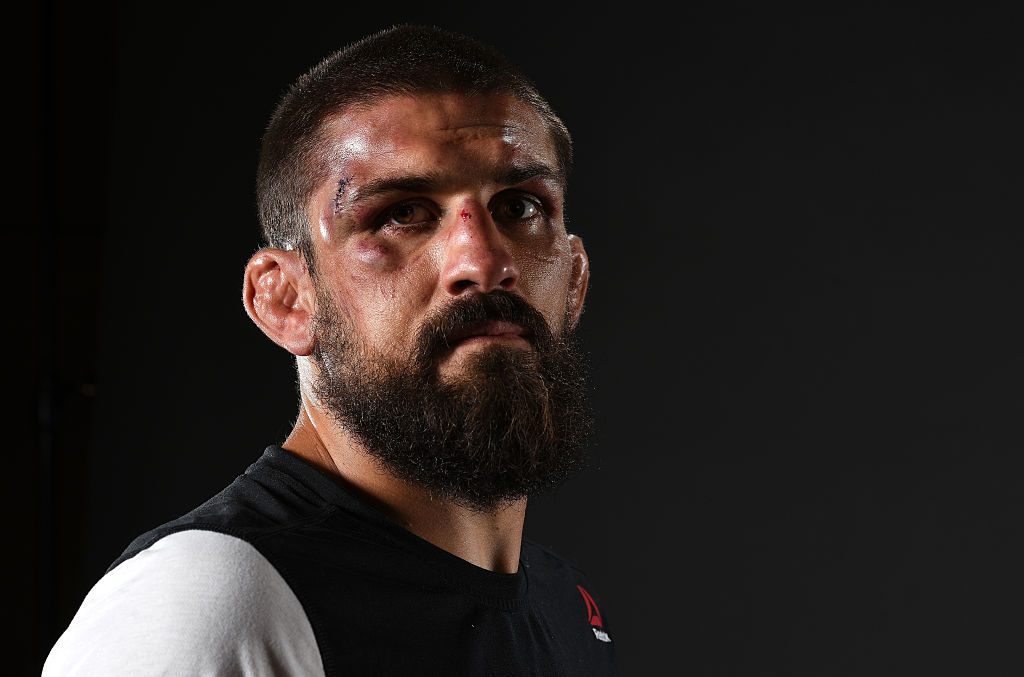 Court McGee of the Ukraine poses for a portrait