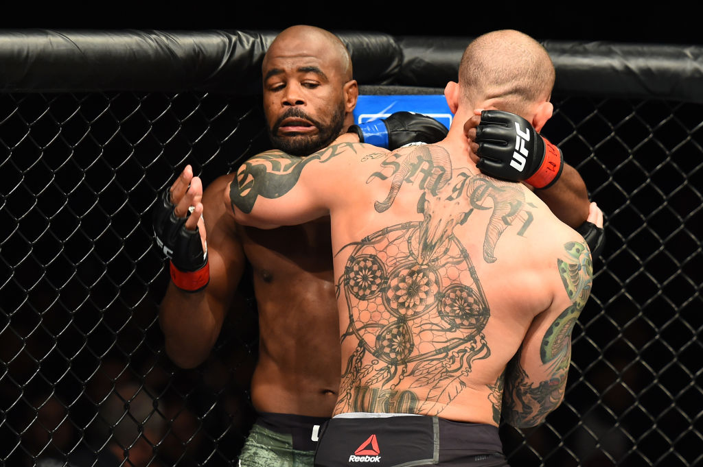 Rashad Evans might have more fights left in him, just not in the UFC.