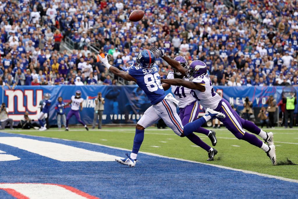 Giants wide receiver Darius Slayton