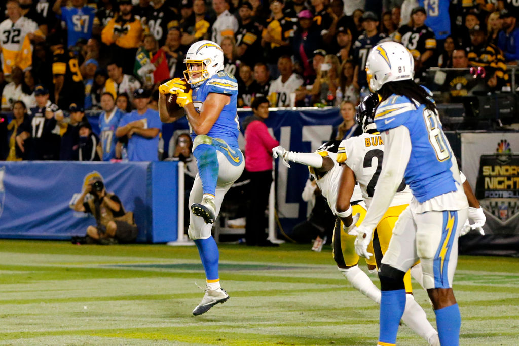 Chargers tight end Hunter Henry