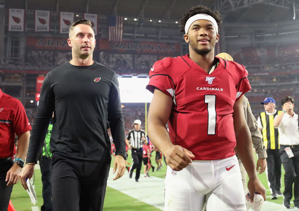 Coach Kliff Kingsbury and QB Kyler Murray are reason enough to tune into Arizona Cardinals games.