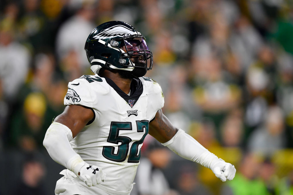 The Philadelphia Eagles cut Zach Brown after his trash-talking failure.