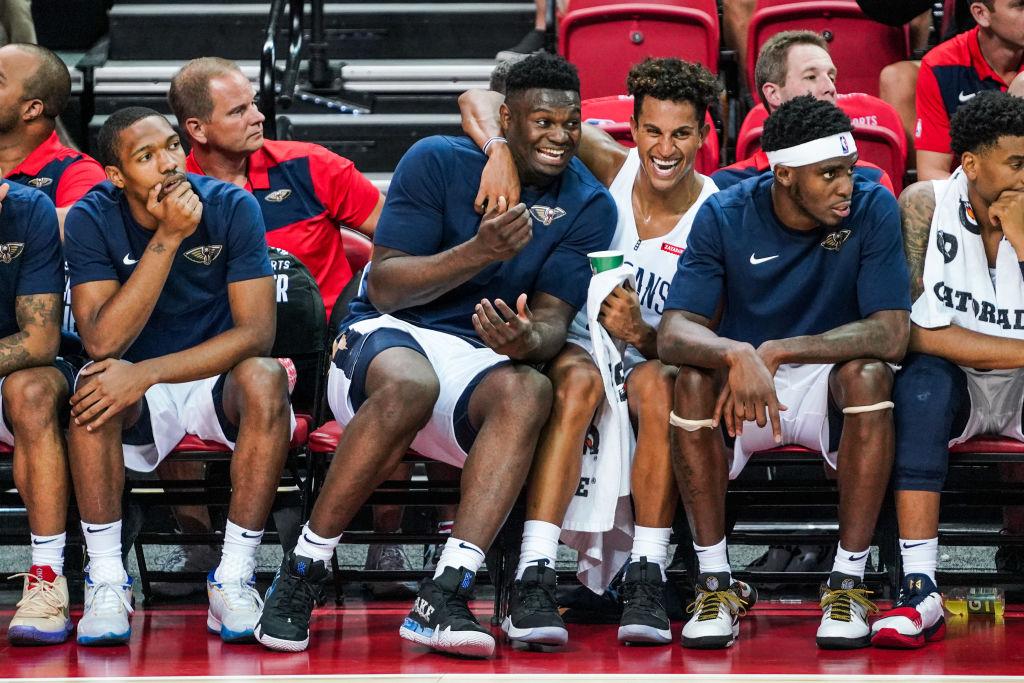 Pelicans forward Zion Williamson