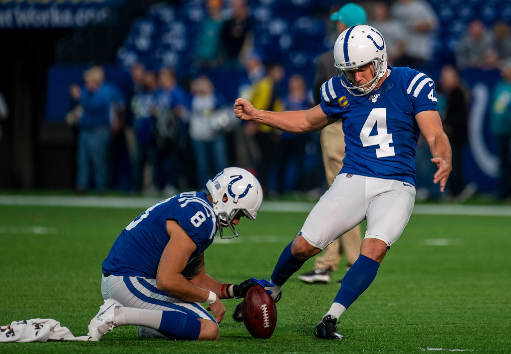 Kicker Adam Vinatieri is an NFL legend, but he has been struggling this season.
