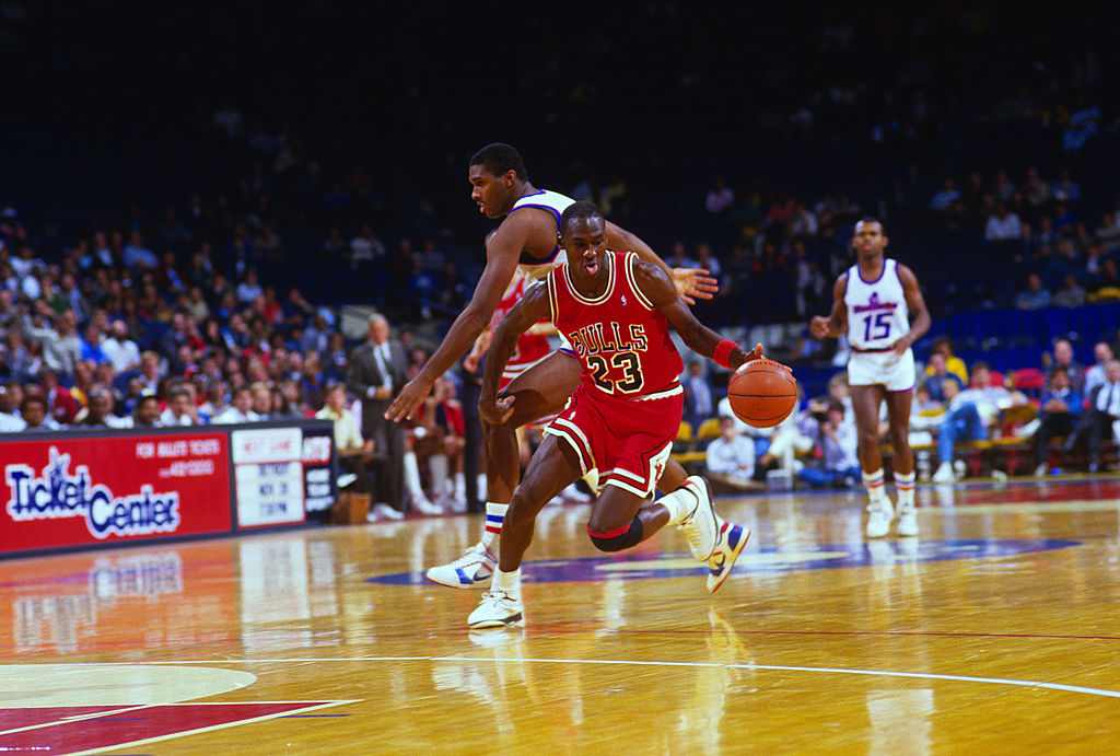 The Air Jordan III shoes were the sneakers that got Michael Jordan to stay with Nike.