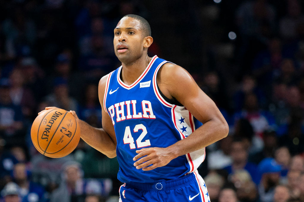 Al Horford has fit right in with the Philadelphia 76ers