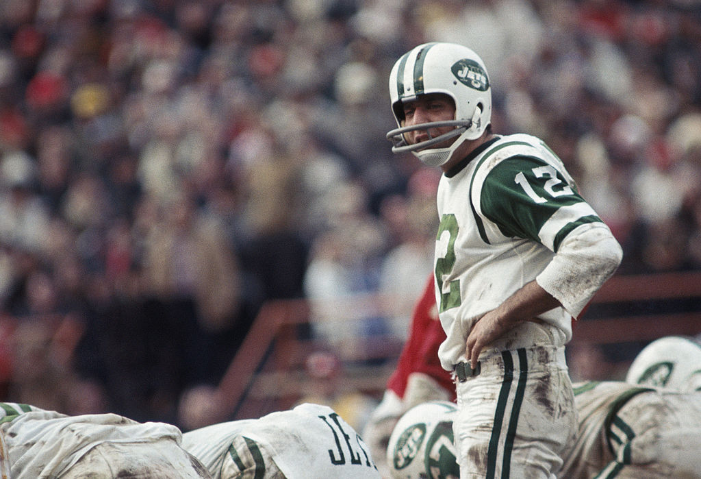 No matter how you look at it, Joe Namath was the greatest AFL player ever.