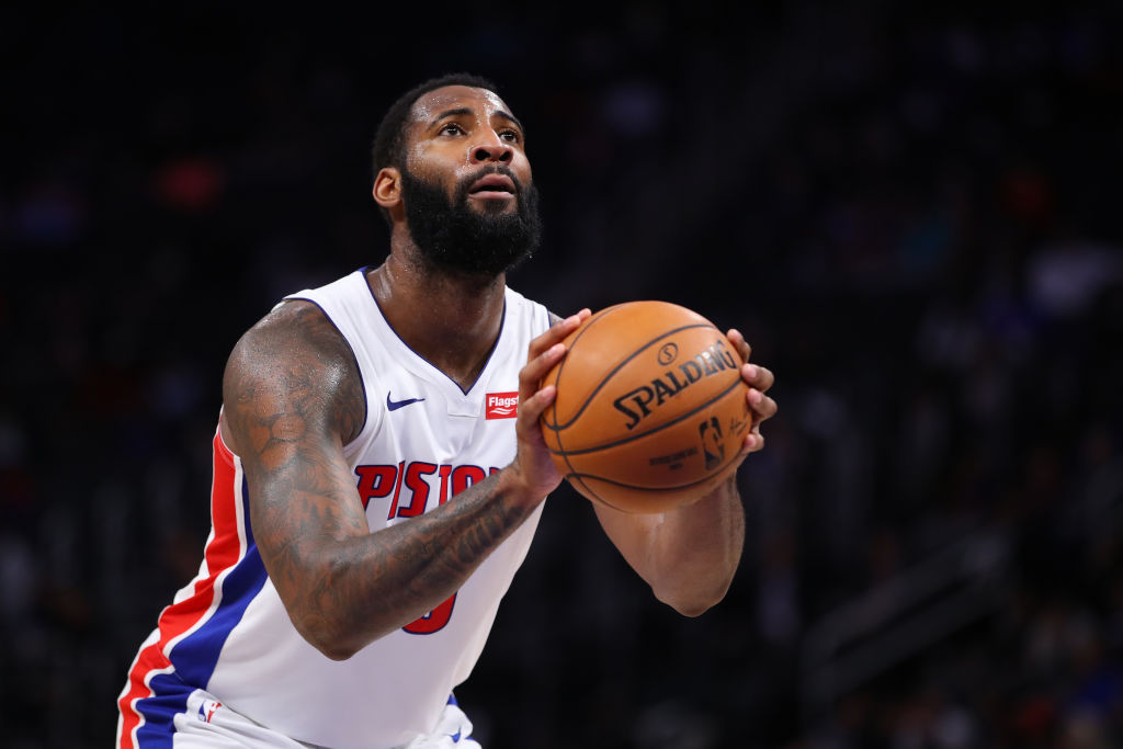Andre Drummond does it all for the Pistons, and he's one of the most underrated players in the NBA.