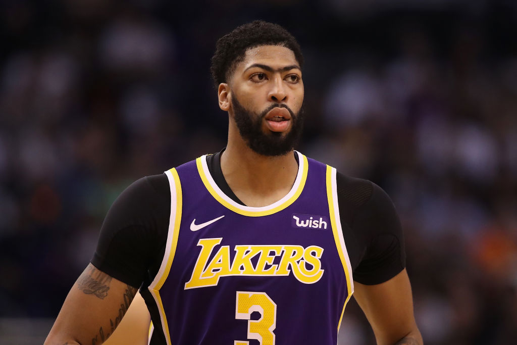 Anthony Davis should rest up during this soft portion of the Lakers' schedule