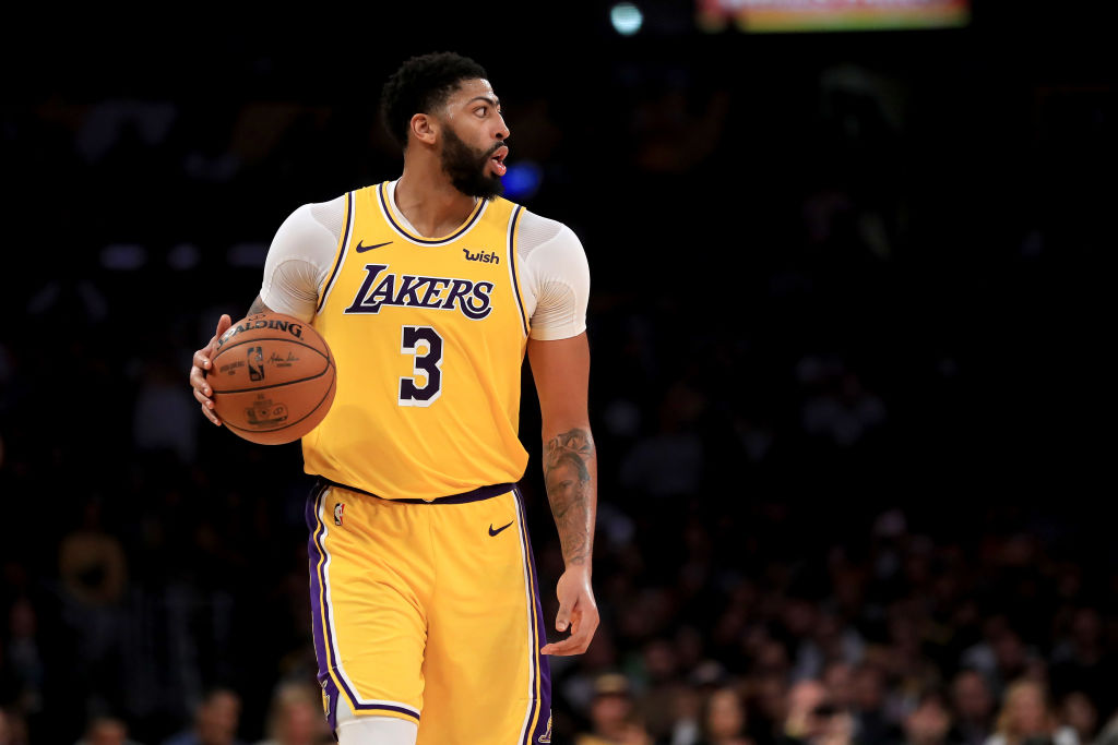 Anthony Davis is a unique NBA superstar that can do it all, including shooting from range