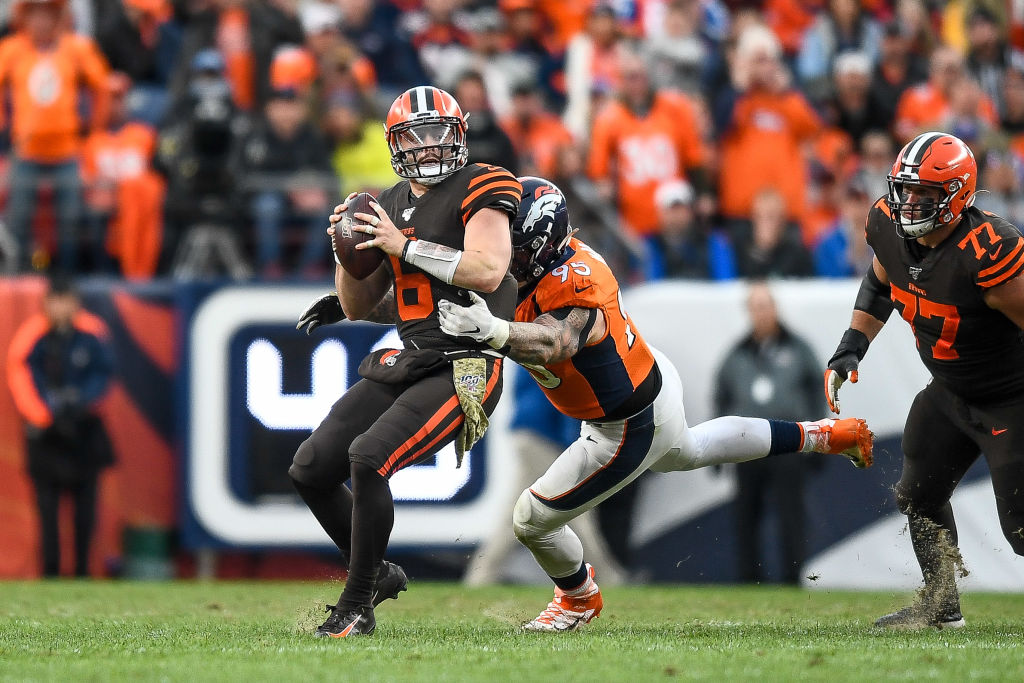Cleveland Browns quarterback Baker Mayfield has struggled this season.