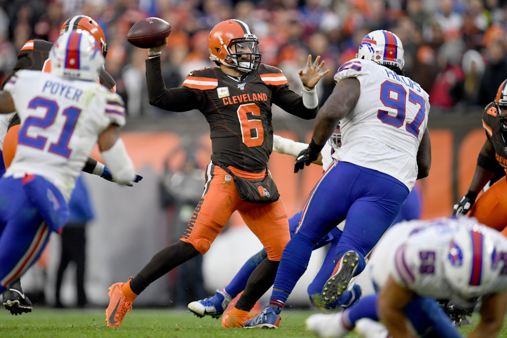 Cleveland Browns quarterback Baker Mayfield has been inconsistent this season.