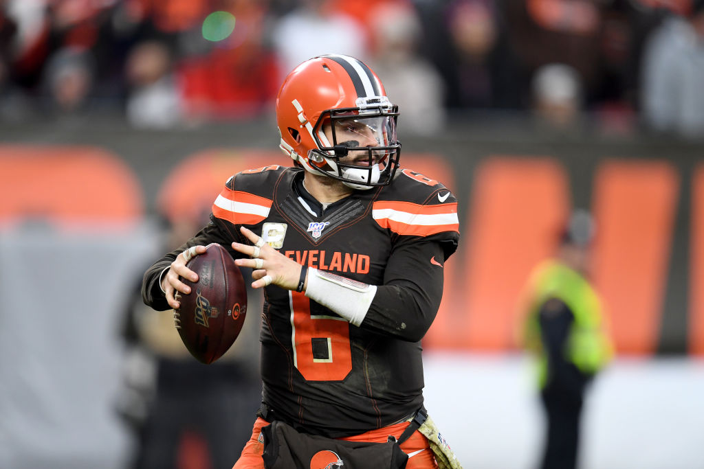 Browns quarterback Baker Mayfied