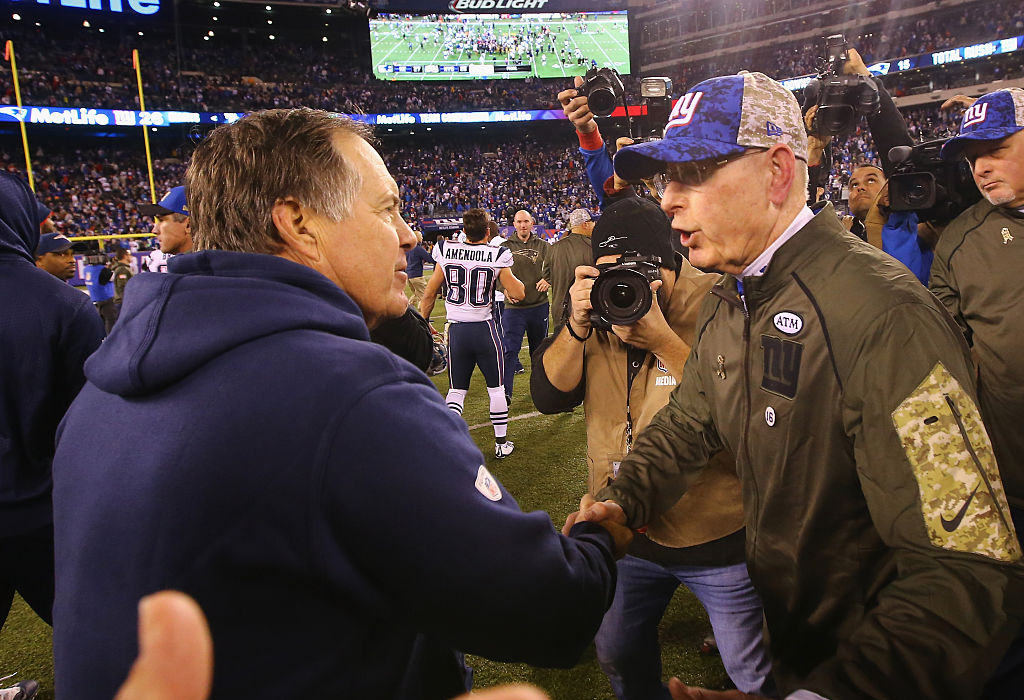 The Patriots' Bill Belichick is already one of the oldest NFL coaches ever.