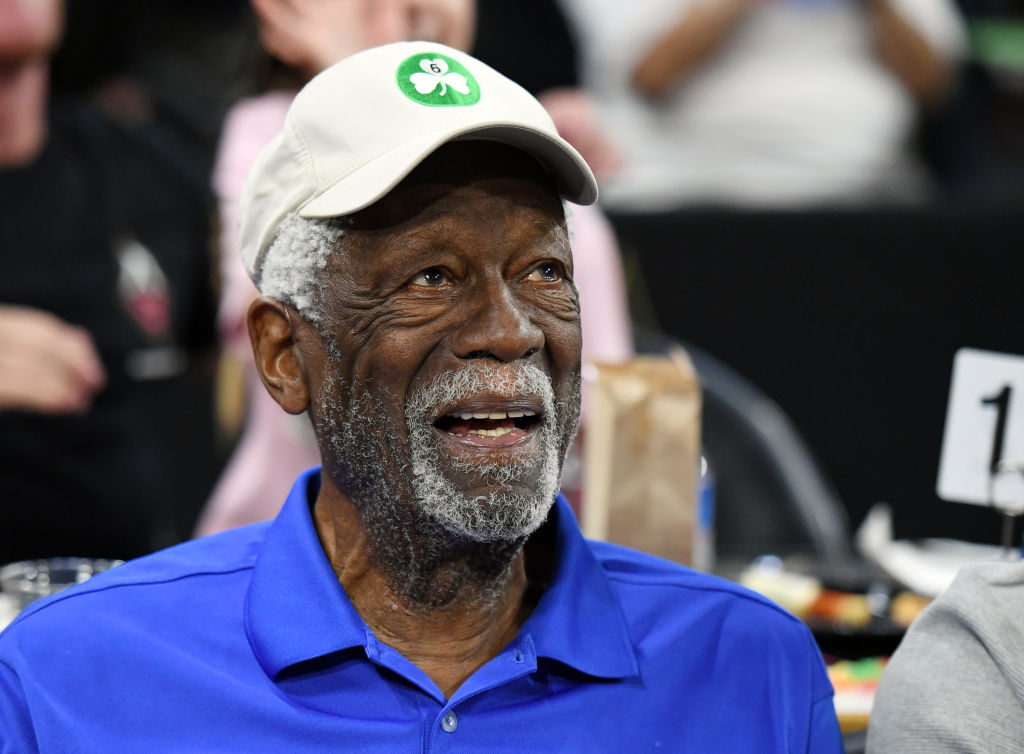 Bill Russell's basketball resume is simply incredible