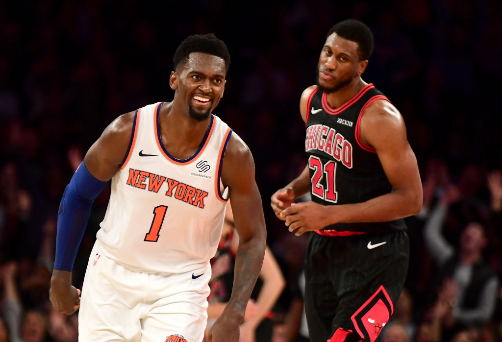 Beside his height, current Knicks player Bobby Portis stood out in one big way at the 2015 NBA draft.