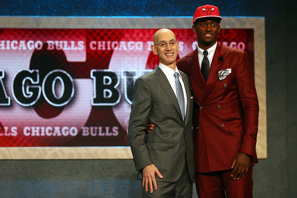 Beside his height, Bobby Portis stood out in one big way at the 2015 NBA draft.