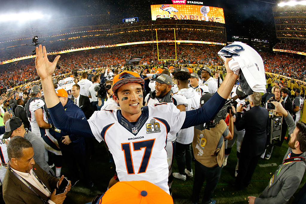 Brock Osweiler had a statistically average yet brilliant NFL career that included a Super Bowl title.