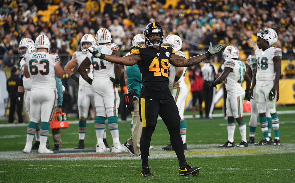 Pittsburgh Steelers linebacker Bud Dupree spoke out about the abuse NFL players receive on social media