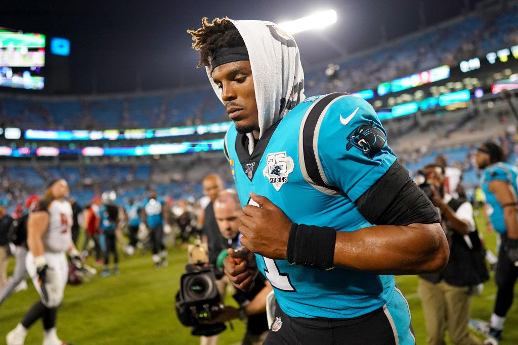 Carolina Panthers quarterback Cam Newton has struggled with a nagging foot injury.