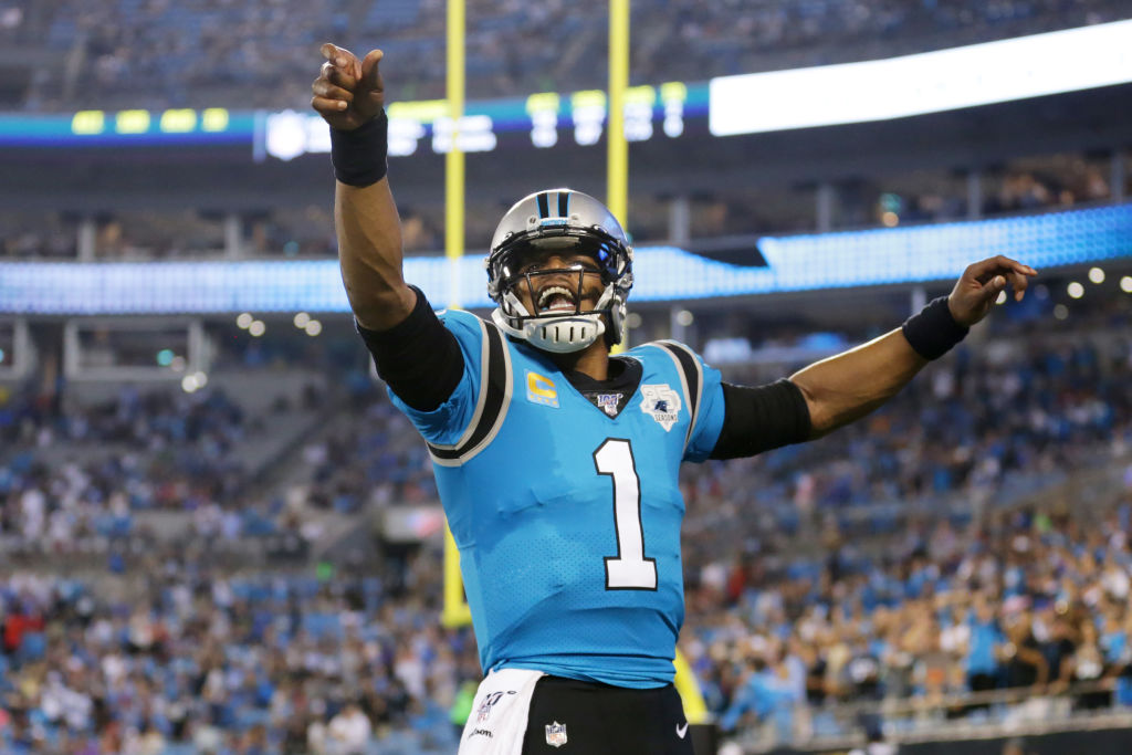 Cam Newton's time with the Panthers is better than most people realize.