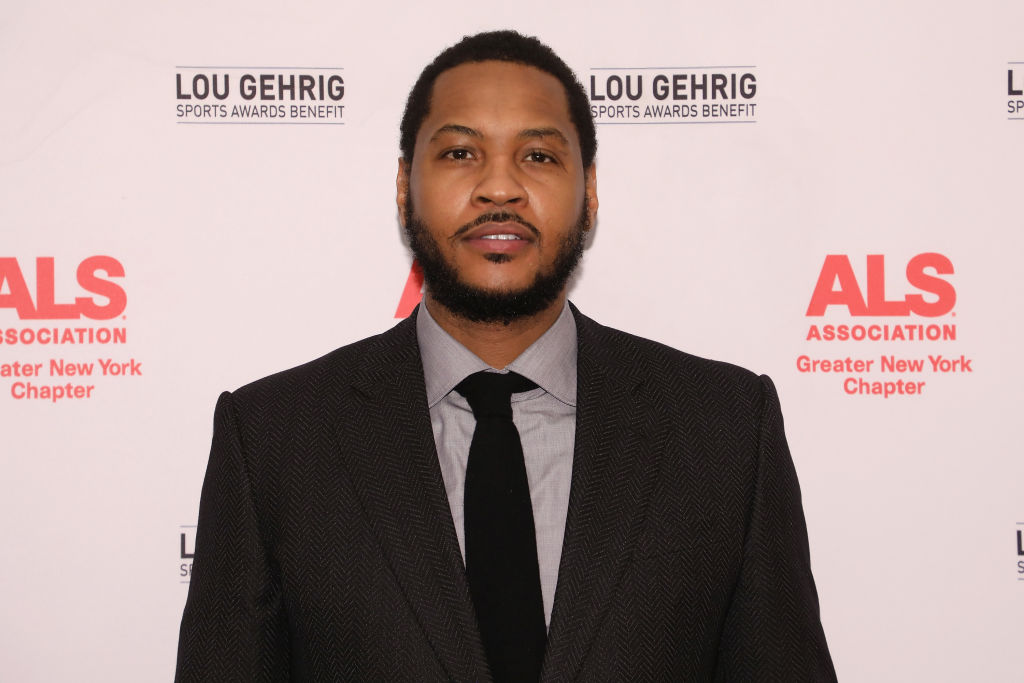 Carmelo Anthony attends the ALS Association