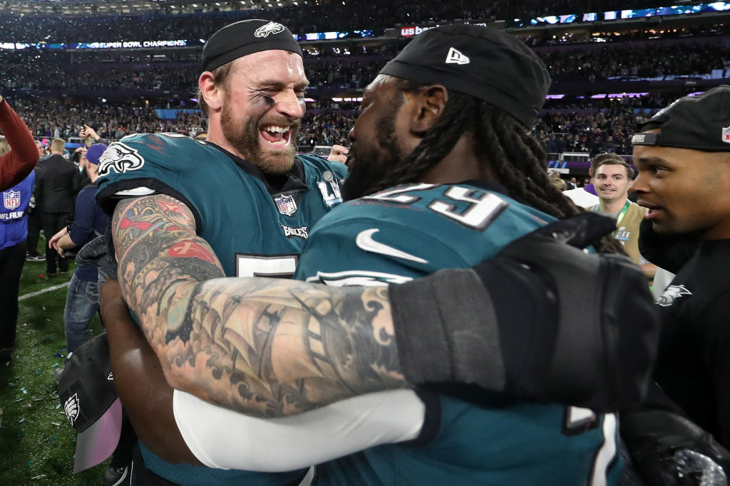 Chris Long won Super Bowl titles with the Patriots and Eagles, and they couldn't have been more different.