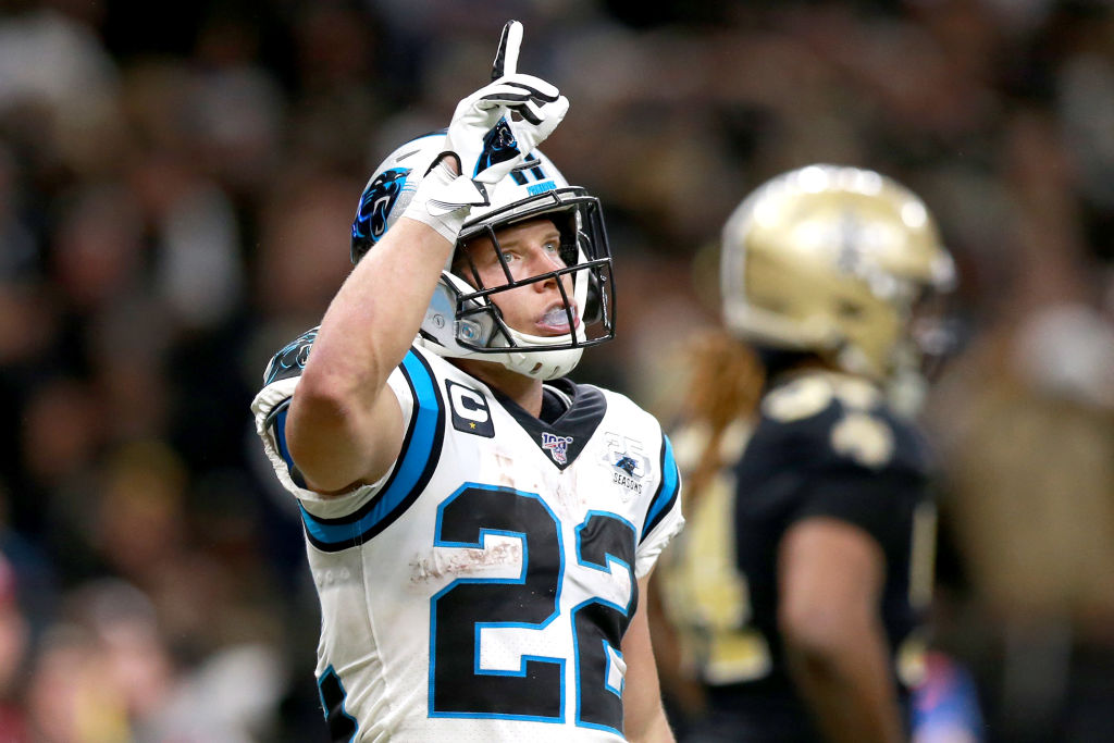 Christian McCaffrey works hard to stay in shape, which is why he avoids the snack aisle at the supermarket.