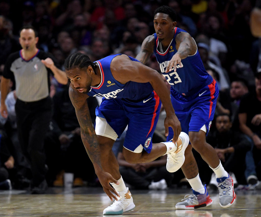 It didn't take long for the Clippers to uncork a successful play using Kawhi Leonard, Lou Williams, and Montrezl Harrell.
