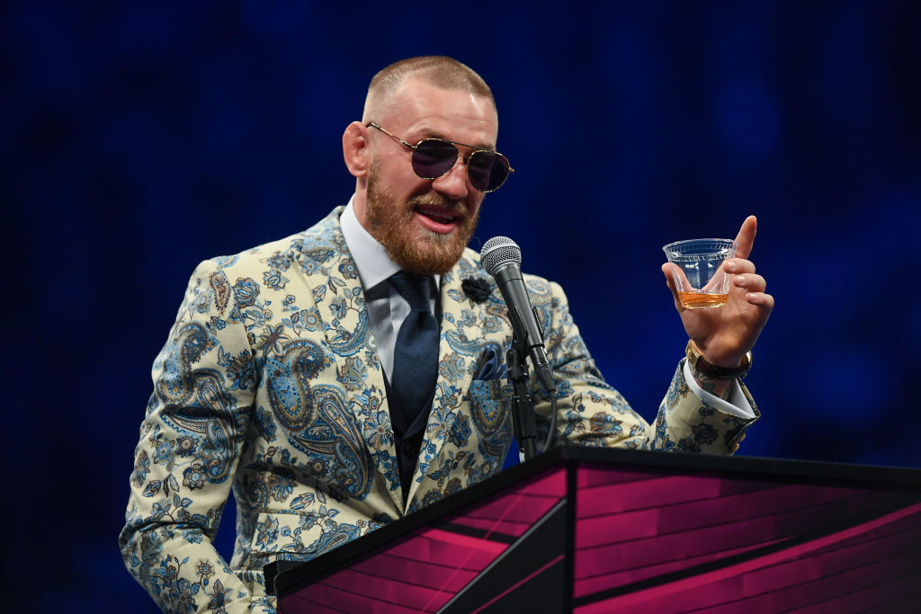 Conor McGregor has a long list of bad behavior, but he plans to do one good deed.