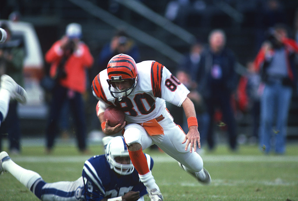 Cris Collinsworth played for the Bengals before moving into the broadcast booth.
