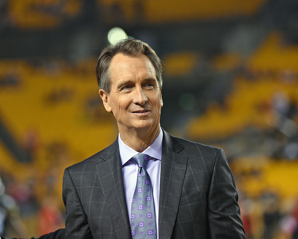 Cris Collinsworth has been a good sport about becoming a meme